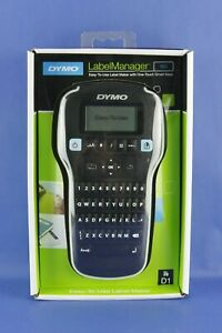 New Dymo Labelmanager 160 Label Maker Printer With One touch Smart Keys Nib