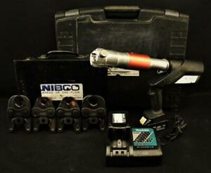 Nibco Pc 280 Cordless Hydraulic Pressing Tool W Standard Press Jaws Pc 16s