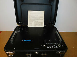 Motorola Vhf Portable Suitcase Repeater P43sxs3180bt Securenet With Oem Accys
