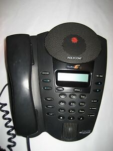 Polycom Soundpoint Pro Se 220 Conference Phone W install user Operations Manual