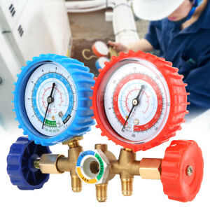 High Strength Manifold Gauge Set Hvac Ac Refrigeration Charging Hoses R12 R22