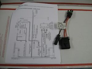 Western Fisher 29047 Adapter Harness For 3 Port Module 3 Plug Plow Wiring System