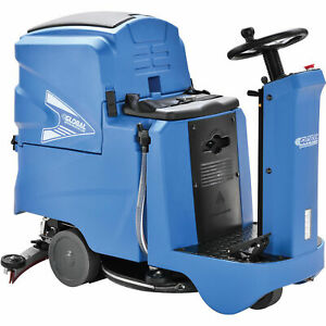 Automatic Ride on Floor Scrubber With 22 Cleaning Path