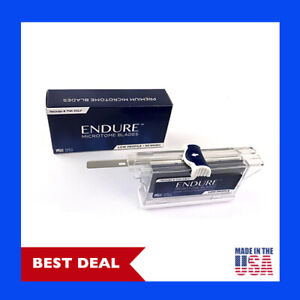 Low Profile Triple Faceted Microtome Blades 50 A Box By Endure Usa Made