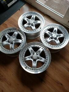 Racing Hart Rev Wheels 5x100 Jdm Multipiece Wheels Ssr Ray S Volk Bbs Work