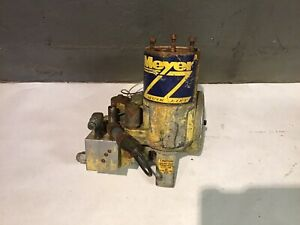Meyer Snow Plow E60 E 60 Hydraulic Plow Pump Case Untested Parts Or Repair