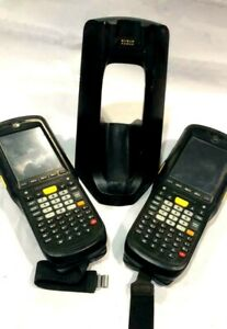 Lot Of 2 Symbol Motorola Mc9596 kdaeab00100 2d Barcode Scanner Mc9590 Mc9500