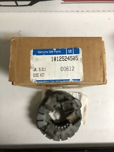 Nos 12524505 12 Bolt Chevy Posi Traction Clutch Set Camaro Z 28 Rs Chevelle Ss