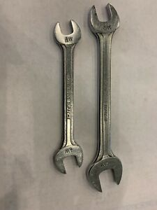 Blue point Supreme Whitworth Standard 3 16w And 1 4w Open end Wrench