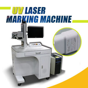 Desktop 3w Uv Laser Marking Machine 110x110mm Engraving Machine Laser Marker