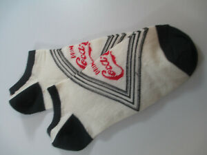 Coca-Cola No Show Ladies Socks Shoe Size 4-10 Coca-Cola Diamond Logo