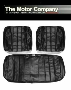 1965 Impala Ss Front Bucket Seat Covers In Black 65bs10u In Stock