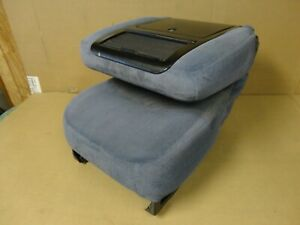 92 96 97 Ford Pickup Truck Bucket Jump Seat Console 40 20 40 Blue