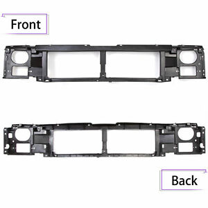 For 1992 1997 Ford F150 F250 Header Panel Grille Mount Panel Black Thermoplastic