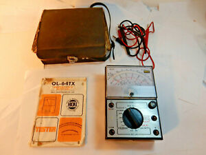 Hioki Electric Multimeter Tester Model Ol 64tx Manual Probes Western Union