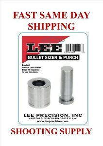 Lee Bullet Sizer and Punch .323 FREE SAME DAY SHIPPING 91515 $13.99