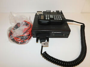 Motorola Astro Spectra Plus W3 800mhz P25 9600baud Trunking Digital Mobile Radio