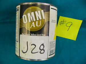 Ppg Paint Tint Omni Au M153 shop line J28 Red Shade Yellow Mixing Base 1qt 9