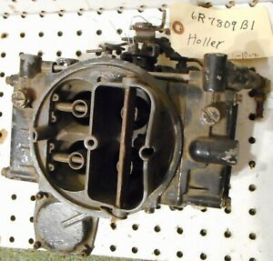 Used Holley Carburetor 4 Barrel 1850 5 1141 6r7809 R1 For Parts Or Rebuild