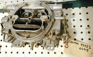Used Carter Afb 9755s Competition Carburetor For Parts Or Rebuild