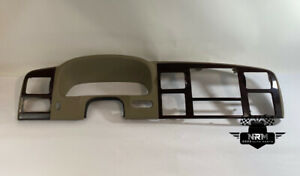 2005 07 Ford F 250 Super Duty King Ranch Center Radio Bezel Dash Woodgrain Trim