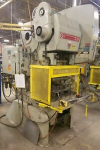 Bliss Obi Type 60 ton Mechanical Press With Air Clutch Used Am19171