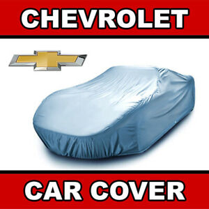 Chevy outdoor Car Cover All Weatherproof 100 Full Warranty custom fit