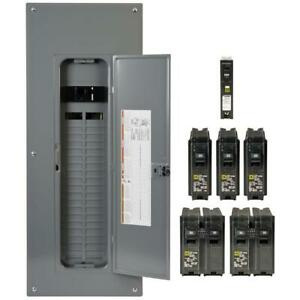 Load Center 200 Amp 40 space 80 circuit Main Breaker Plug on Neutral With Cover