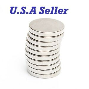 5pcs 20mm X 3mm N50 Super Strong Round Disc Rare Earth Neodymium Magnets U s a