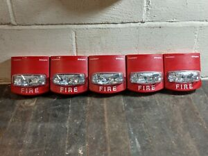 Lot 5 Simplex True Alert 4904 9331 Strobes Only Fully Functional Pre owned