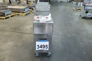 3495 New Sd Vulcan Deep Fryer Natural Gas 45 50 Lb Oil Capacity Model 1gr45a 1