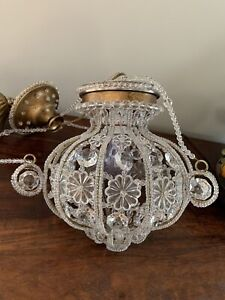 Crystal Beaded Chandelier French Louis Xv Maison Bagues Sherle Wagner Style