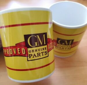 Vintage Style Authorized Gm Accessories Chevrolet 11oz Coffee Mug Brand New