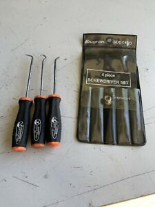 Snap On Tools Mini Pick Tool Set Of 3 Sddx400 Sg31sh 90 45