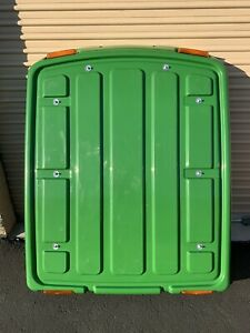 John Deere Tractor Complete Cab Roof With Liner And Lights