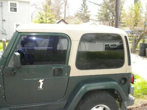 Jeep Wrangler Sahara Tj 97 06 Tan Hard Top Hardtop Tan