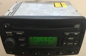 2000 2001 2002 Ford Focus Stereo Am Fm Radio Single Disc Cd Player Oem