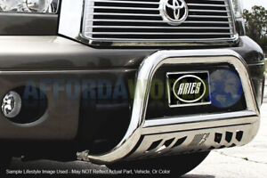 Aries 3in Stainless Bull Bar Brush Guard W Skid Plate For 98 04 Toyota Tacoma