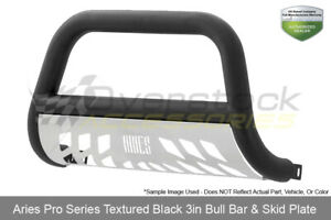 Pro Series Textured Blk 3in Bull Bar For 2003 18 Dodge Ram 2500 3500 02 08 1500