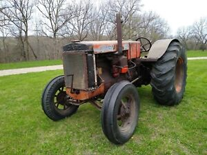 1936 Case Tractor Model L Antique Tractor Free Lower 48 States Shipping