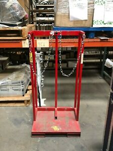 Gas Cylinder Caddy For 2 Cylinders Use Withforklift Or Pallet Jack 2 cylinder