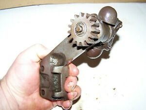 Old Taylor Vacuum Governor Bracket Assembly T65 Hit Miss Gas Engine Motor Steam