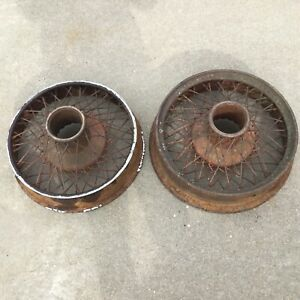 Vintage 1929 Lasalle Buffalo Wire Wheels 19 Inch Dental Drive 1920 S 1930 S