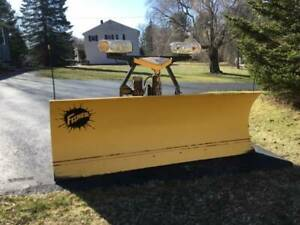 Fisher Minute Mount 2 7 6 Foot 3 Plug Plow Great Shape