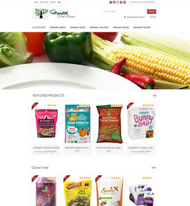 Organic Products Store Amazon Affiliate Website Free Install Hosting