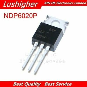 10pcs Ndp6020p To 220 Ndp6020 To220 6020p P channel Original