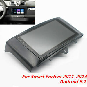 9 Android 9 1 Car Stereo Head Unit Radio Gps 2 32gb For Smart Fortwo 2011 2014