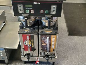 Bunn Dual Sh Dbc Soft Heat Coffee Brewer With Low Faucet