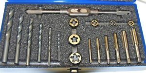 19 Piece Metric Tap Drill And Die Set f 3 1 1 141