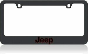 Eurosport Daytona Carbon License Plate Frame Badge For Jeep